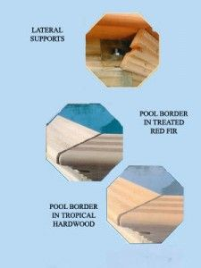 Wooden Pool Design & Installations