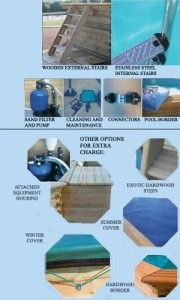 Indoor & Outdoor Wooden Pool Contractors